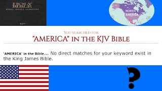 IS AMERICA IN THE BIBLE