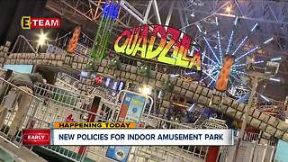 Indoor Amusement Park policy changes - Video
