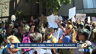 Students skip class to join Climate Change Walkout