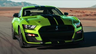 Ford unveils lime green Mustang option in time for St. Patrick's Day