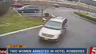 2 Women Arrested In Hotel Robberies - Video