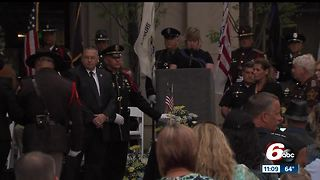Fallen law enforcement officers honored in Indianapolis - Video