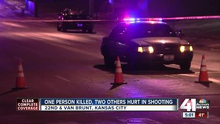 One dead, two others injured in KCMO shooting
