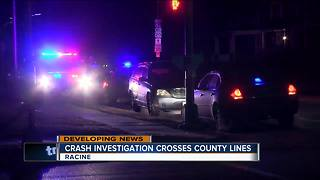 Crash investigation crashes crosses county lines - Video