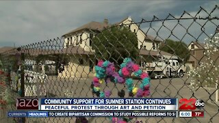 Peaceful Protest Through Art for Sumner Station