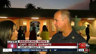 Thomas Fire: Conditions not improving - Video