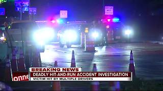 Deadly hit-and-run accident investigation