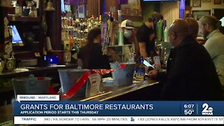 Grants for Baltimore restaurants available