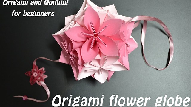 Diy paper crafts how to fold an origami flower ball mightylinksfo