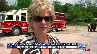 Man Found Dead After Gas Leak - Video
