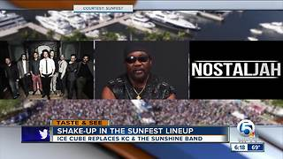 Big Changes at SunFest's Saturday Lineup - Video