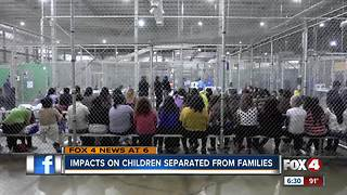 Impacts on children separated from families at border
