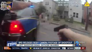 Footage of police-involved shooting released