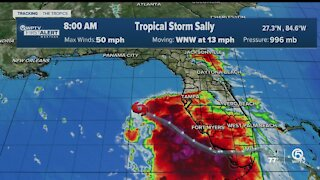 Tropical Storm Sally update 9/13/20