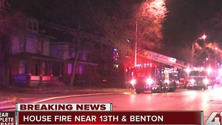 KCFD battle two early morning house fires