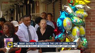 Vigil held for Dollar General shooting victim in West Baltimore - Video