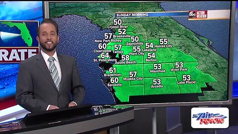 Florida's Most Accurate Forecast with Jason on Saturday, April 20, 2019