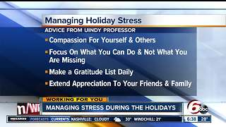 Managing Holiday Stress - Video