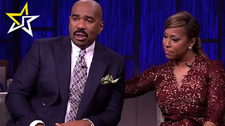 Steve Harvey Becomes Overwhelmed With Emotions When His 7 Kids Surprise Him Live On Air - Video