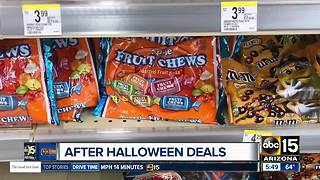 Get deals on candy after Halloween - Video