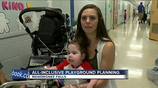 Menomonee Falls kids design all-inclusive playground - Video