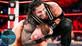 Top 10 Roman Reigns WWE Matches - Video