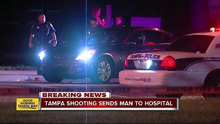 Detectives: Shooting in Tampa sends one to hospital - Video