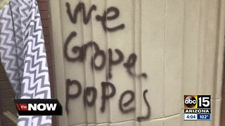 Teen arrested for vandalizing a church in Surprise - Video