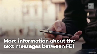 FBI Text Messages Reveal Info About Clinton Probe - Video