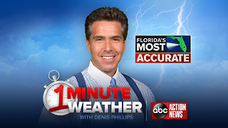 Florida's Most Accurate Forecast with Denis Phillips on Monday, August 7, 2017