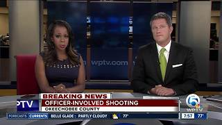 Officer-involved shooting investigated in Okeechobee County - Video