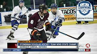 Stoneman Douglas hockey team nabs state title - Video