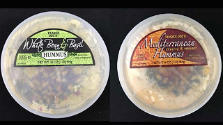 2 flavors of hummus recalled at Trader Joe's