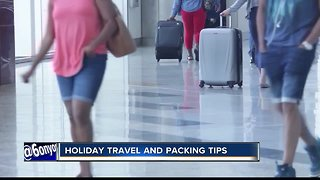 Avoid traveling with wrapped Christmas presents this year - Video