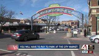 City Market finalizes paid parking policy - Video