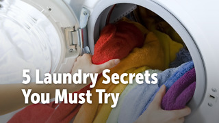 5 Laundry Secrets You Must Try - Video