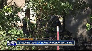3 People Dead in Home Invasion and Fire - Video