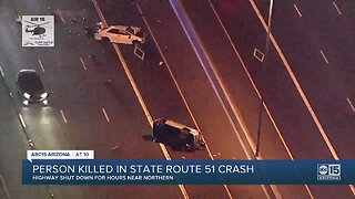 Person killed in State Route 51 crash