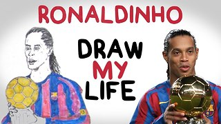 DRAW MY LIFE with Ronaldinho! - Video