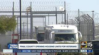 Special veteran jail-housing program looks to get lives back on track - Video
