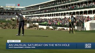 Saturday at the Waste Management Phoenix Open
