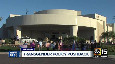 Community asking charter school district to change transgender policy