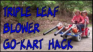 Leaf Blower Go-Kart Lifehack – Make Science Fun - Video