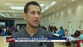 Emergency DACA forum held in East Las Vegas - Video
