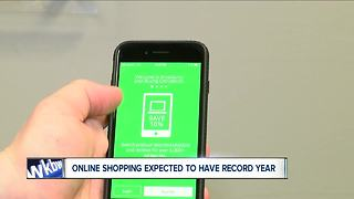 Online shopping expected to have record year - Video