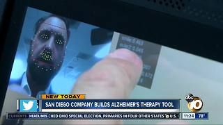 San Diego company builds Alzheimer's tool - Video