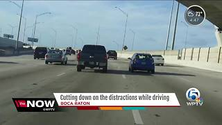 Cutting down on driving distractions - Video
