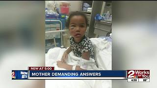 Mother of hurt child at daycare demands answers