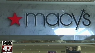 Macy's closing store in Lansing - Video