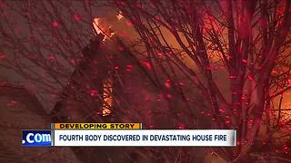 Fourth body found after house fire in Cleveland - Video